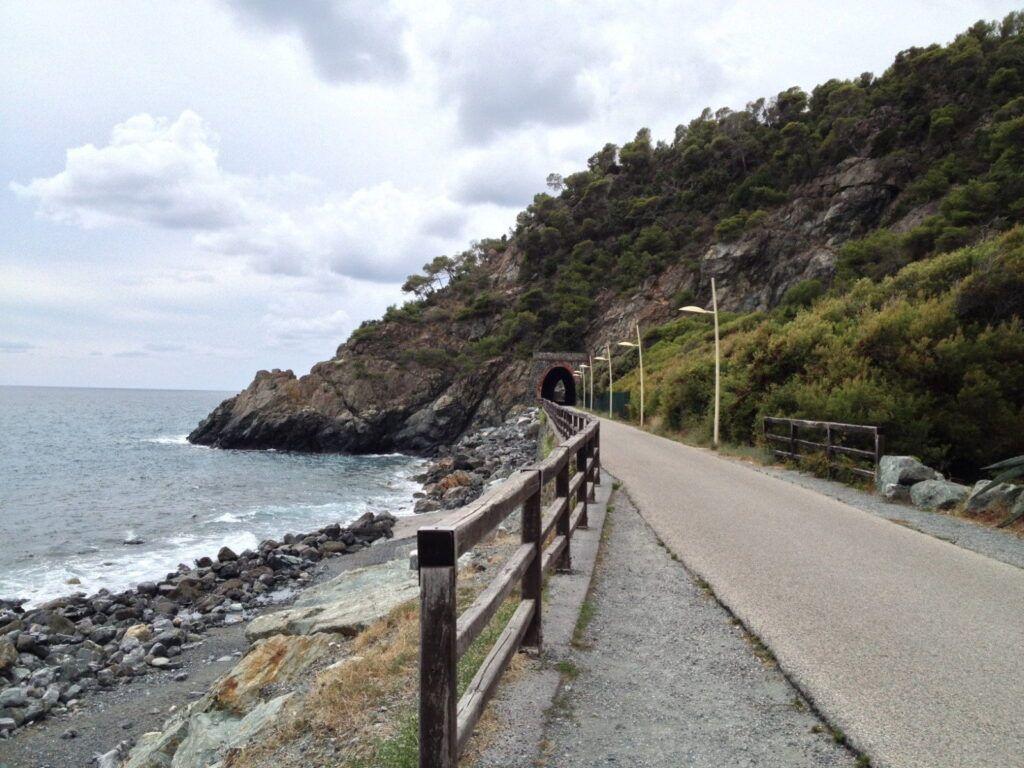 Ciclabile in Liguria